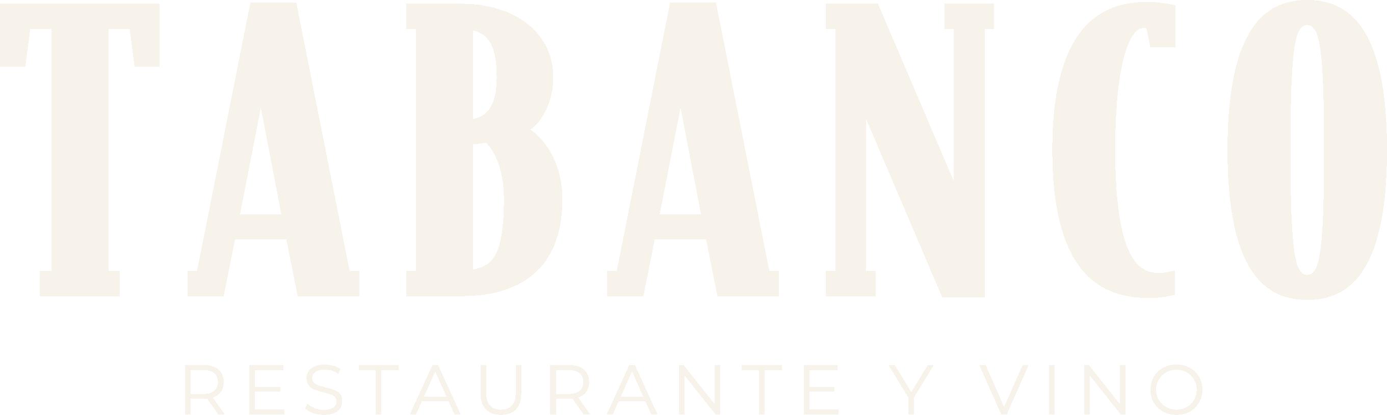 Tabanco_Logo with strap cream